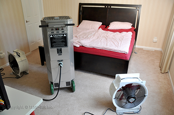 Heater in Bedroom